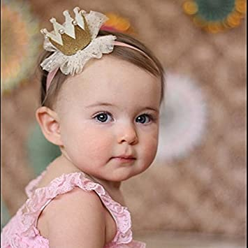 Nice Newborn Baby Girl Infant Crown Headband Clothing, Shoes & Accessories Hair Accessories