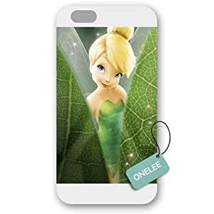 For HTC One M7 Case Cover over - Diy Disney Tinker Bell For HTC One M7 Case Cover Hard PlasticWhite 02