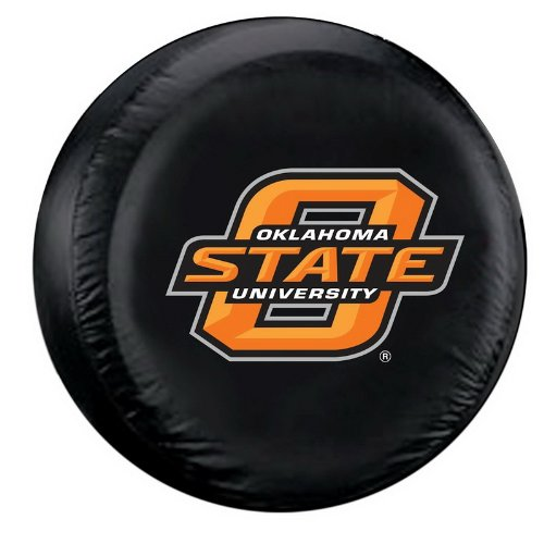 (Oklahoma State Cowboys NCAA Spare Tire Cover (Black))