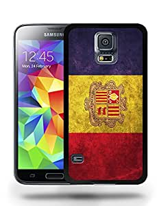 Andorra National Vintage Flag Phone Case Cover Designs for Samsung Galaxy S5
