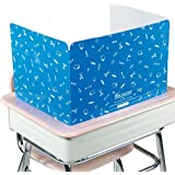Really Good Stuff Jr. Privacy Shields for Student's Desks – Keeps Their Eyes on Their Own Test/Assignments (High Gloss (12 Shields), Blue)