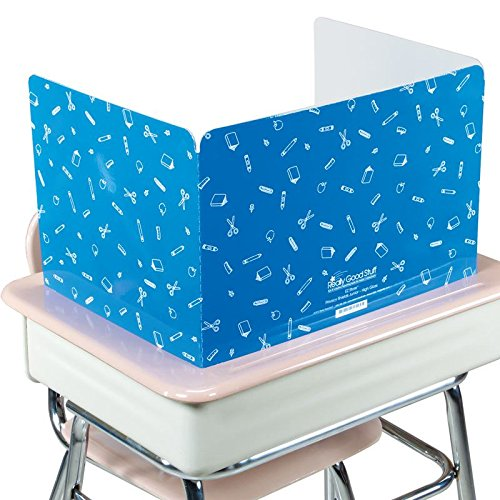 Really Good Stuff Jr. Privacy Shields for Student's Desks – Keeps Their Eyes on Their Own Test/Assignments (High Gloss (12 Shields), -