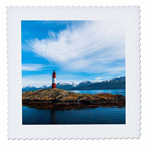 3Drose Danita Delimont   Lighthouse   Clouds Over Lighthouse Near Ushuaia  Argentina   8X8 Inch Quilt Square  Qs 228608 3