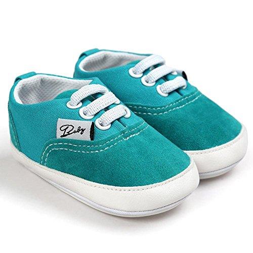 Zapatos de bebé, Switchali zapatos BebéNiña Chicos moda Zapato de lona Recién nacido nino Zapatos casuales Zapatilla Antideslizante Suela blanda barato gran venta Verde