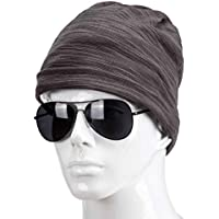 Winter Hats for Men Warm Outdoor Hats fashion Skull Slouch Cap 28 27cm
