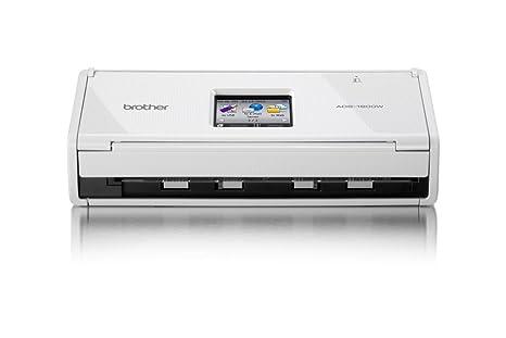 Brother ADS1600W - Escáner departamental Compacto (Doble Cara automático, WiFi, escaneado a la Nube)