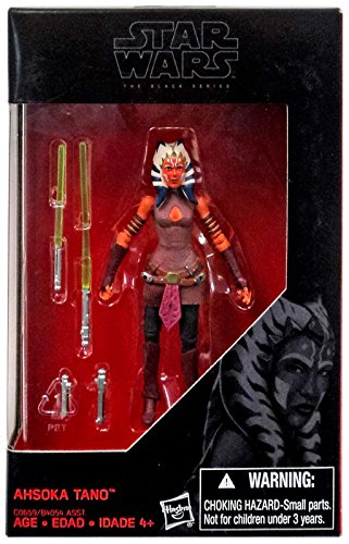 Star Wars, 2016 The Black Series, Ahsoka Tano Exclusive Action Figure, 3.75 - Commerce Ca Outlets