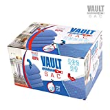 vaccume storage - Vacuum Storage Bags   8 PACK JUMBO Size   8 x Jumbo Size 40 Inch x 30 Inch Bags   80% MORE STORAGE for Clothes Blankets Duvets & Much More   Works with Any Vacuum Cleaner FREE Hand-Pump For Travel