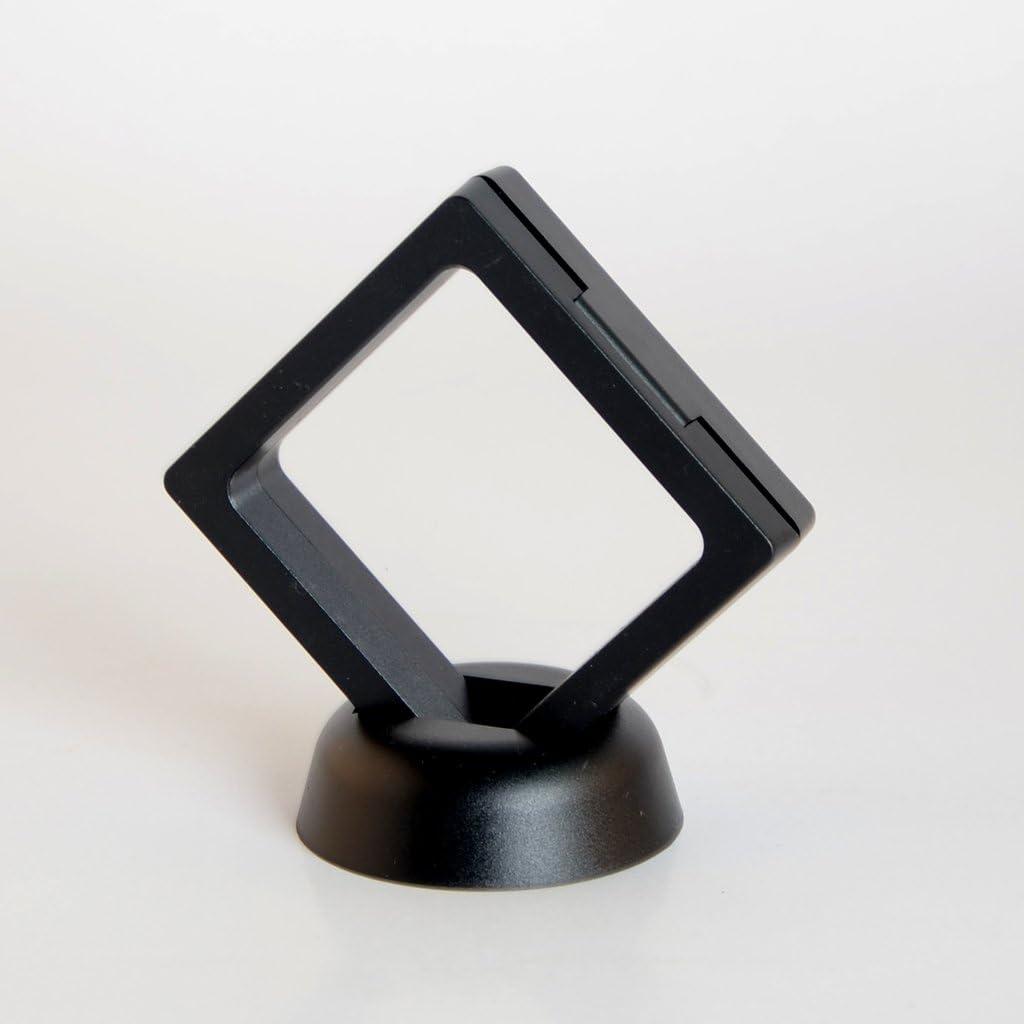 P Prettyia Pr/ésentoir de Bijoux en Membrane et Plastique Pet Durable Pr/évenir Raclage et Collision de Bracelets Colliers Boucles doreilles Noir 70 x 70 x 18 mm