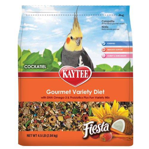 Kaytee Fiesta Max Food for Cockatiel, 4-1/2-Pound, My Pet Supplies
