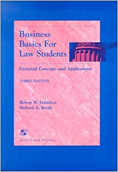 Book Business Basics for Law Students: Essential Concepts and Applications (Essentials for Law Students Series)