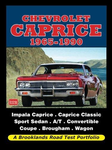 Chevrolet Caprice 1965-1990 (Road Test Portfolio)