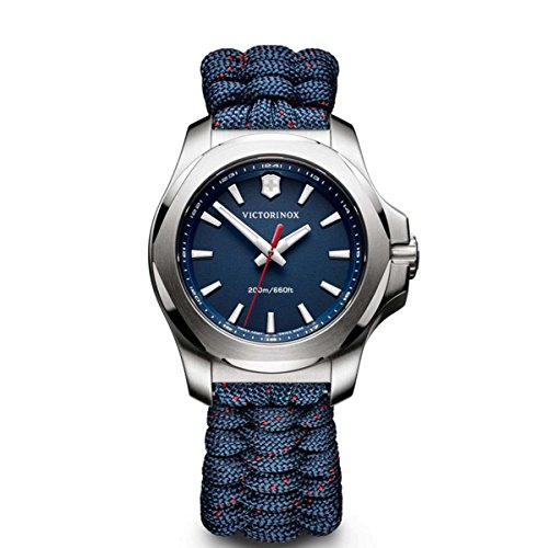 Victorinox I.N.O.X. V Blue Dial Blue Textile Ladies Watch 241770