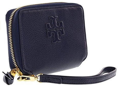 Tory Burch Pebbled Leather Wristlet