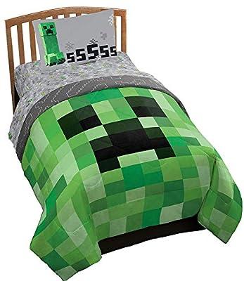 Minecraft Twin Kid's Bedding Sheet Set, 3 Piece