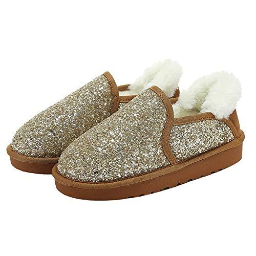 La Zapatos nbsp;mujeres Thirty Nieve nbsp;botas nbsp;cálidas Para Algodón Treinta nbsp; Marrón nbsp;invierno Ykfchdx De De nbsp;confort nbsp; nine wqdtPn