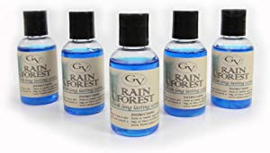 GV 5 Pack Rain Forest Vacuum Fragrance scents for Rainbow, Rainmate, Thermax, Hyla, Humidifiers 2 fl oz