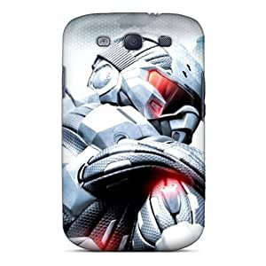 Premium Durable Crysis Fashion Tpu Galaxy S3 Protective Case Cover by icecream design