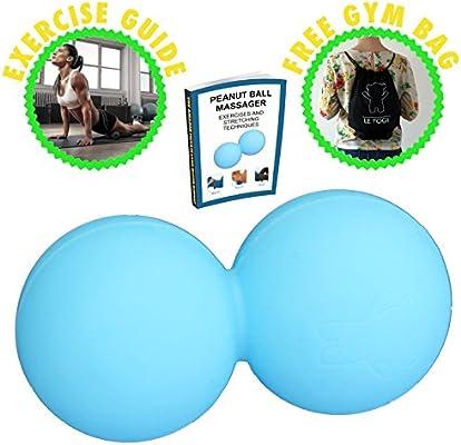 Bola de masaje con bolsa de gimnasio – para terapia de puntos ...