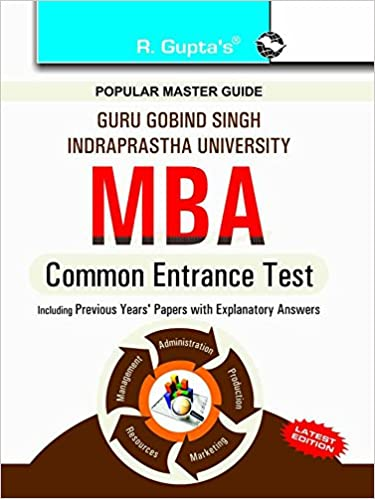 GGSIPU: MBA Common Entrance Test Guide