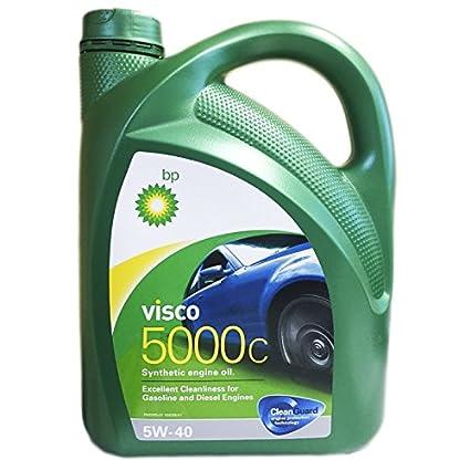 Bp Visco 5000C 5W40 4 litros. Lubricante sintético para uso tanto en motores gasolina como
