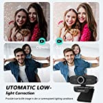Unzano Webcam Full HD Computer Camera