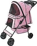 Go Pet Club Pet Stroller Pink, My Pet Supplies