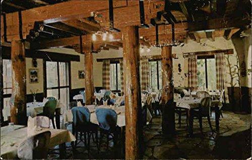 Resorts Hotels Lodge - The Pine Room Indian Lodge Resort Hotel Fort Davis, Texas Original Vintage Postcard