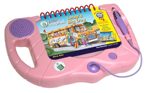 System Learning First Leappad - LeapFrog My First LeapPad Learning System - Pink