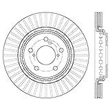 Centric 120.40092 Premium Brake Rotor