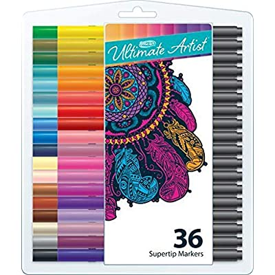 RoseArt Ultimate Artist Supertip Markers, 36 count: Toys & Games