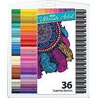 Rose Art - Ultimate Artist 36 Count Supertip Washable Markers
