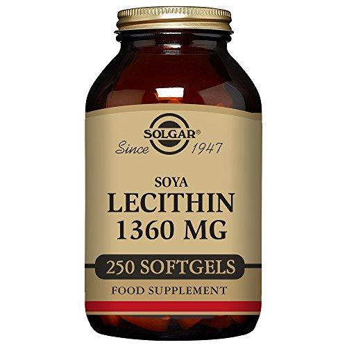 1360 mg, 250 Softgels (250 Softgels Lecithin)