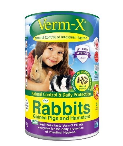 Verm-x Treats Nuggets For Rabbits and Small Pets 180g 10pack by Verm