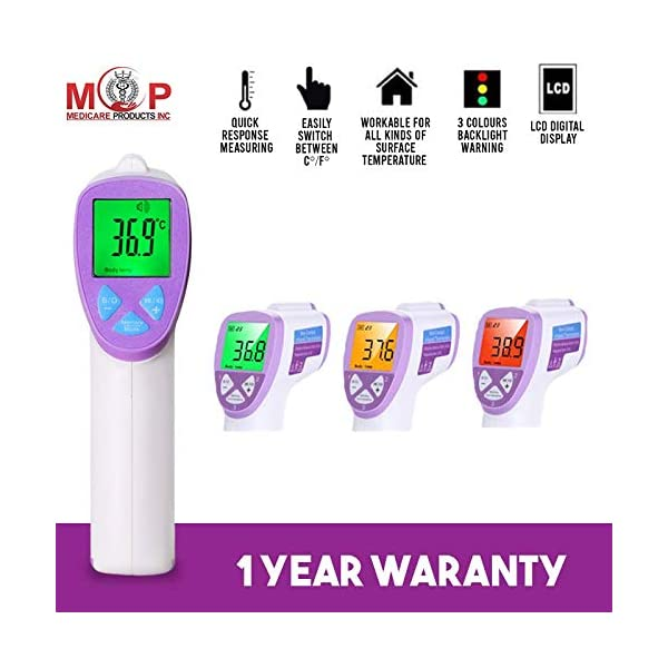 Best MCP Infrared Talking Forehead Gun Thermometer 2020