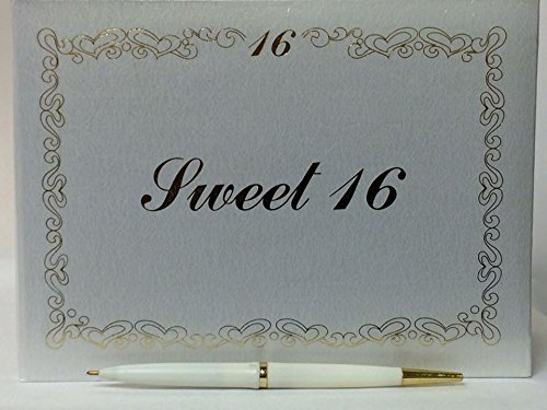 Sweet 16 Signature Guest Book Reception Party Keepsake Gift Party Supplies ()