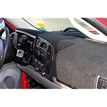 Dash Design 2007 Chevrolet Silverado LTZ Black Poly Carpet Custom Fit Dash Cover