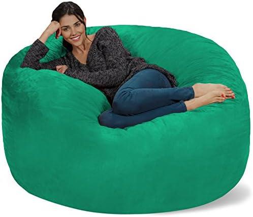 Best bean bag chair: Chill Sack Bean Bag Chair: Giant 5' Memory Foam Furniture Bean Bag