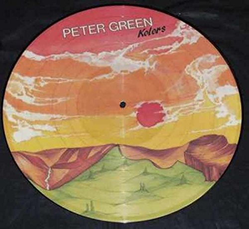 Peter Green - Kolors Vinyl LP U.K. Picture Disc (Kolor Green)