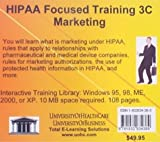 HIPAA Focused Training 3C Marketing (No. 3C)