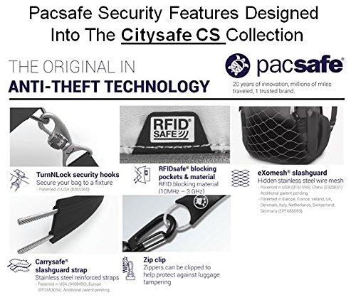 Pacsafe Citysafe Cs25 Anti Theft Convertible Cross Body & Hip Pack 20195100