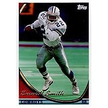 Emmitt Smith football card (Dallas Cowboys Hall of Fame) 1994 Topps #1