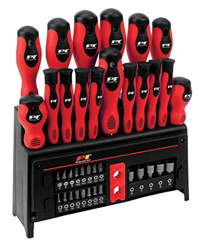 Performance Tool W1727 39-Piece Screwdriver Set