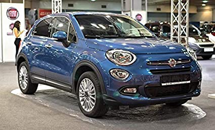 Amazon Com Photography Poster Fiat 500x Suv Car Automotive