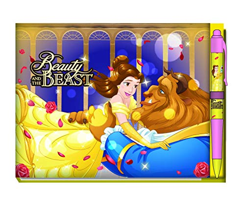 Beauty and the Beast Deluxe Autograph Book with Pen