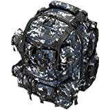 "20"" 2400cu. in. Great Tactical Hunting Camping Hiking Backpack OP220 DMBK Digital Camouflage (Navy Blue)"