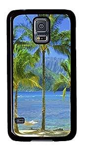 best Samsung Galaxy S5 covers Kaui Hawaii 2 PC Black Custom Samsung Galaxy S5 Case Cover