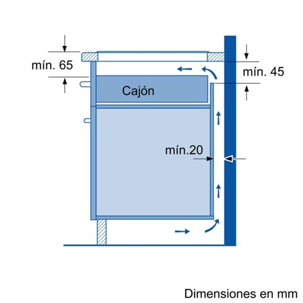Balay 3EB915LR   Vitrocerámica De Inducción, 3 Zonas, Encastrable:  Amazon.es: Hogar
