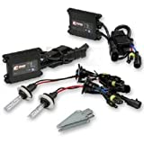 HELIO HID H4 8K HID Headlight Kit High Intensity Discharge for Cars, Lights, Bulbs, and Lamps Kit