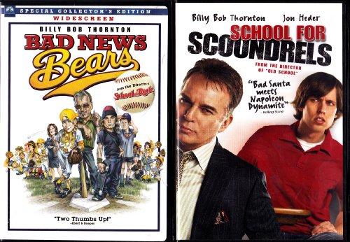 Bad News Bears , School For Scoundrels : Billy Bob Thorton 2 Pack